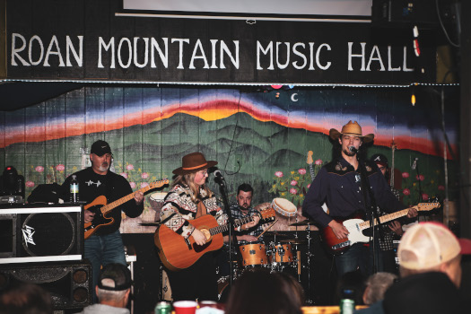 Band at the Rocky Mountain Music Hall